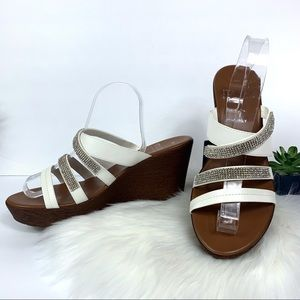 Italian Shoemaker Shoes Platform Sandals Leather